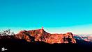 Amanecer en el Roque Nublo
