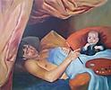 Mi hijo y yo con El Arte y La Pintura