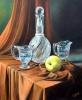 Cristal y manzana